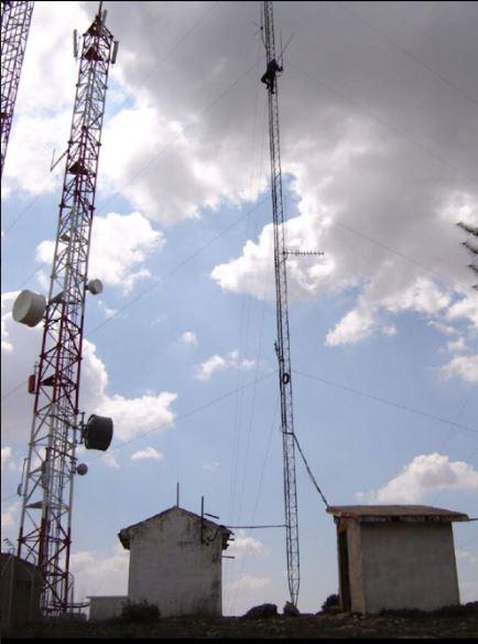 Instalación antena VHF